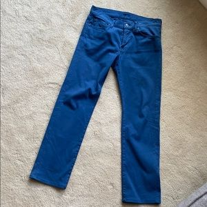Men's 7 for All Mankind blue jeans size 31 x 30